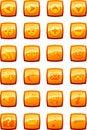 Free Vector Illustration Of Glossy Multimedia Icon Set Royalty Free Stock Photo - 5501385