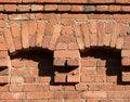 Free Brick Wall Decoration Stock Photography - 5501792