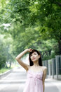 Free Girl In The Summer. Royalty Free Stock Photography - 5503557