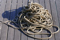 Free Coiled Rope Royalty Free Stock Images - 5506969