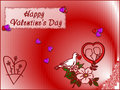 Free Card Happy Valentine S Day Stock Photography - 5507342