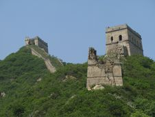 Free The Greatwall In China Royalty Free Stock Photography - 5500037