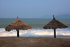 Free Relax On The Beach Royalty Free Stock Photos - 5500128