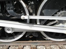 Free Train Wheels Royalty Free Stock Photo - 5500415