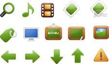 Free Icon Set 7 Stock Images - 5501114