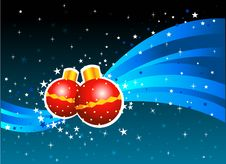 Free Christmas Ball Royalty Free Stock Photography - 5501127