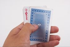 Free Playing Cards Royalty Free Stock Photos - 5501568