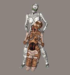 Cyborgs Stock Image