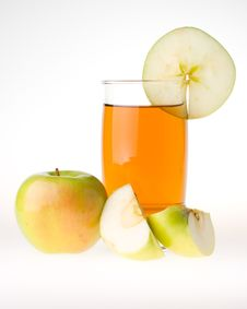 Free Apple And Juice Stock Photos - 5501773