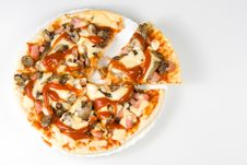 Free Appetizing Pizza Royalty Free Stock Photography - 5502117