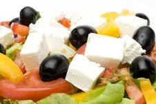 Free Greek Salad Royalty Free Stock Photo - 5502135