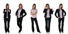 Free Young Business Girls Stock Photos - 5502463