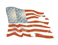 Free American Flag Background Royalty Free Stock Photo - 5502615