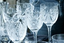Free Ornamental Glasses Royalty Free Stock Image - 5502706