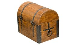 Free Old Brown Wooden Chest Stock Images - 5502784