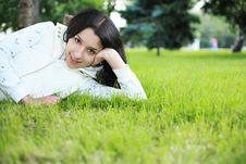 Free Beautiful Girl Lying Stock Photo - 5502880