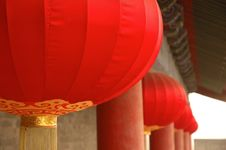 Free Red Lanterns Stock Images - 5503034