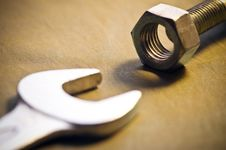 Free Tool And Nut Stock Photo - 5503270