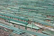 Free Benches In A Row Royalty Free Stock Photo - 5503735