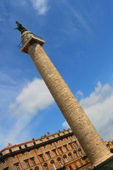 Free Trajan S Column In Rome Royalty Free Stock Photos - 5503738