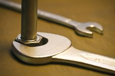 Free Tool And Nut Stock Photography - 5504042