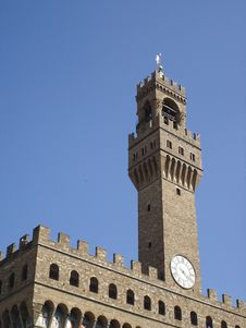 Free Palazzo Vecchio - Detail Royalty Free Stock Photo - 5504425