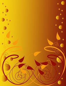 Free Leaf Swirls Royalty Free Stock Image - 5504856
