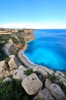 Free View Of Gorgeous Mediterranean Coast Royalty Free Stock Images - 5504909