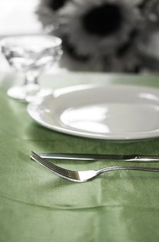 Free Banquette Table Royalty Free Stock Photo - 5504965