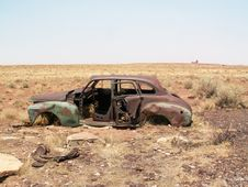 Free Rusting Car Royalty Free Stock Photo - 5505025