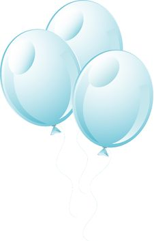 Free White Wedding Balloons Icon Stock Photo - 5505350