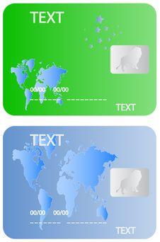 Free Banking Cards Royalty Free Stock Image - 5506376