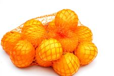 Free Satsumas In A Net Royalty Free Stock Images - 5507159