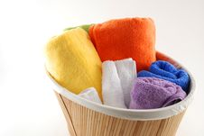 Free Bath Towels Stock Image - 5507391