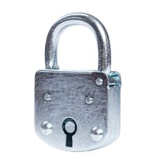 Free Lock Isolated Stock Photo - 5507580