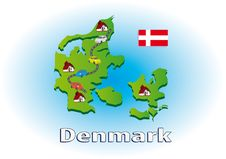 Traveling In Denmark Royalty Free Stock Photo