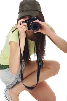 Free Photographer Royalty Free Stock Photography - 5508187