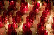 Free Candles In Glasses Royalty Free Stock Photos - 5508198