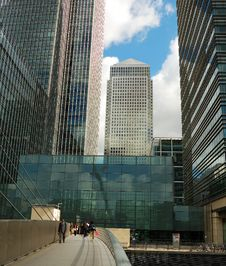 Free Canary Wharf Skyscrapers Stock Photos - 5508353