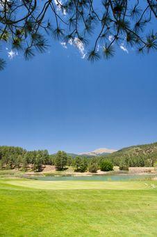 Free An Arizona Golf Course Royalty Free Stock Photo - 5508395