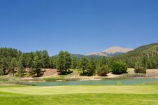 Free Amazing View From An Arizona Golf Course Royalty Free Stock Photo - 5508475