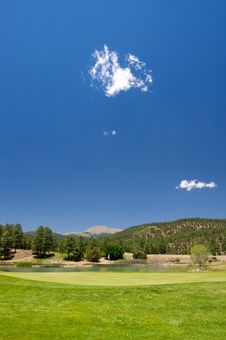 Free Gorgeous Golf Course In Arizona Royalty Free Stock Images - 5508709