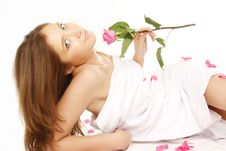 Free Attractive Woman Getting Spa Treatment Stock Images - 5509194