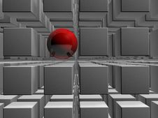 Free Sphere 3d Stock Photography - 5509672