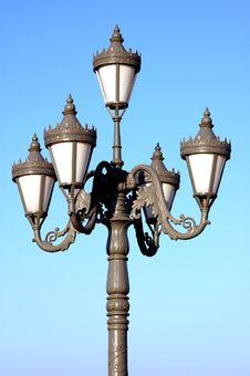 Free Floodlights Pole Stock Photos - 5509693