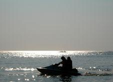 Free Jet-ski Water Sport Royalty Free Stock Image - 5509796