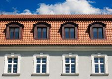 Free Various Windows Of An Old Building Royalty Free Stock Image - 55065766