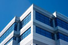 Free Large Windows Of The New Building As A Geometric Pattern Stock Photography - 55065842