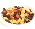 Free Candied Peel, Raisins, Nuts. Stock Images - 5510094