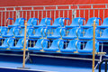 Free Blue Chairs Stock Photo - 5510970